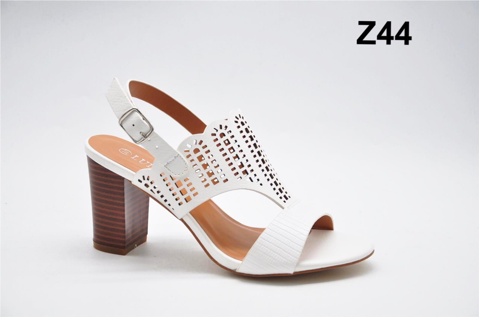 Sandale dama albe Ramona