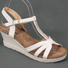 Sandale dama albe Sonyke
