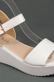 Sandale dama albe Zoryna