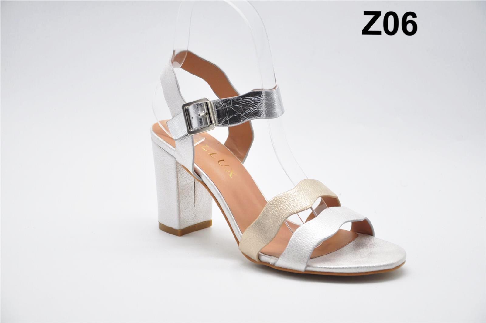 Sandale dama argintii Erika