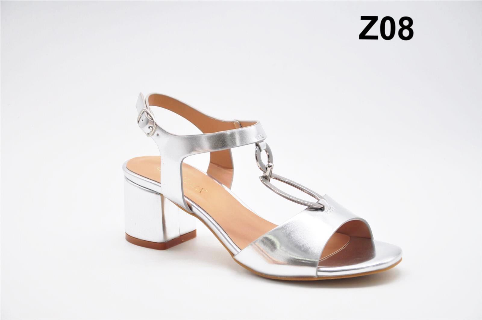Sandale dama argintii Laura2