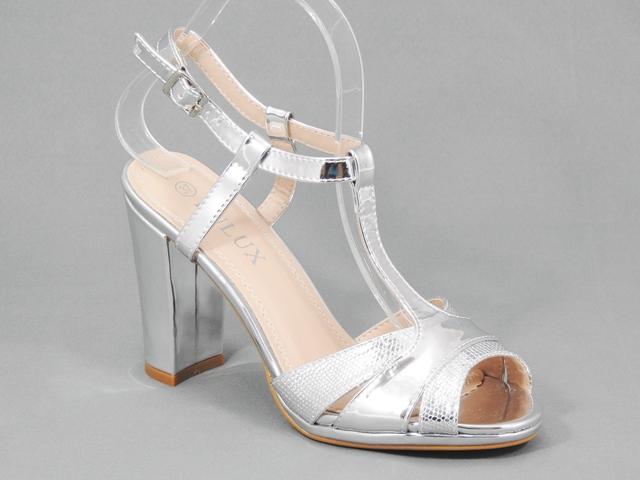 Sandale dama argintii Olga