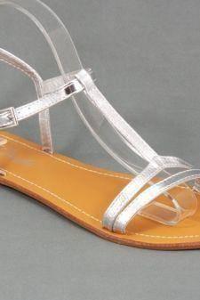 Sandale dama argintii Ryta