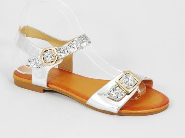 Sandale dama argintii Serena