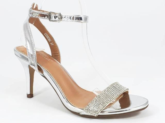 Sandale dama argintii Sonya