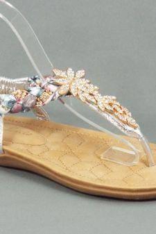 Sandale dama argintii Sore