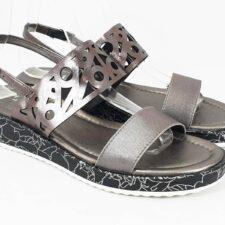 Sandale dama argintii Valentina2