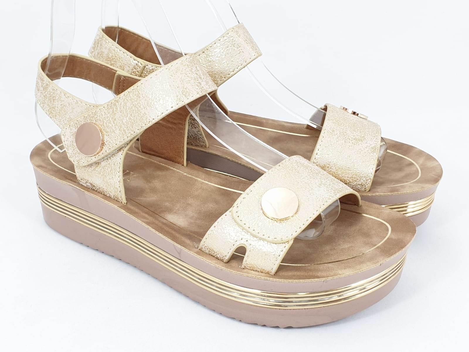 Sandale dama aurii Bella