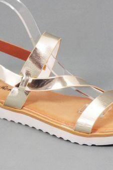 Sandale dama aurii Doina
