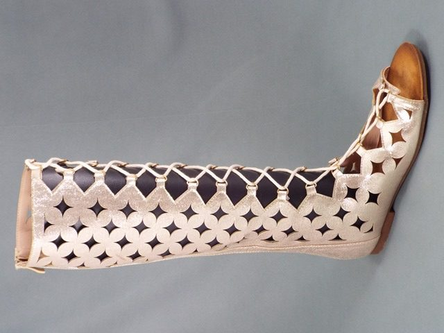 Sandale dama aurii Lola