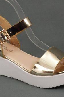 Sandale dama aurii Loly