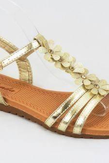 Sandale dama aurii Nico