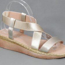 Sandale dama aurii Zorina