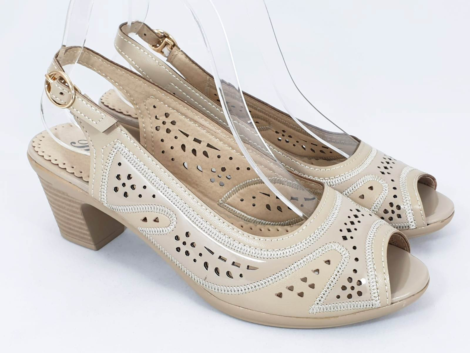 Sandale dama bej Aurelia