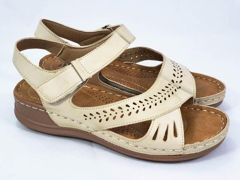 Sandale dama bej Dana