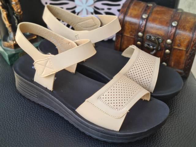 Sandale dama bej Elvira