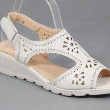 Sandale dama bej Fauda