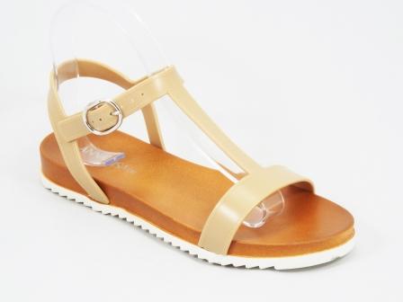 Sandale dama bej Kleo