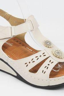 Sandale dama bej Miria