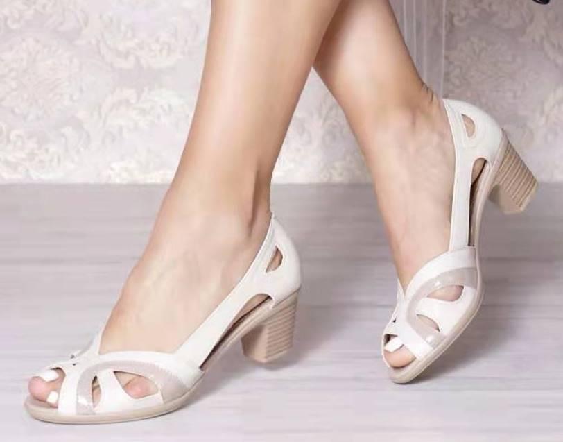 Sandale dama bej Olga2