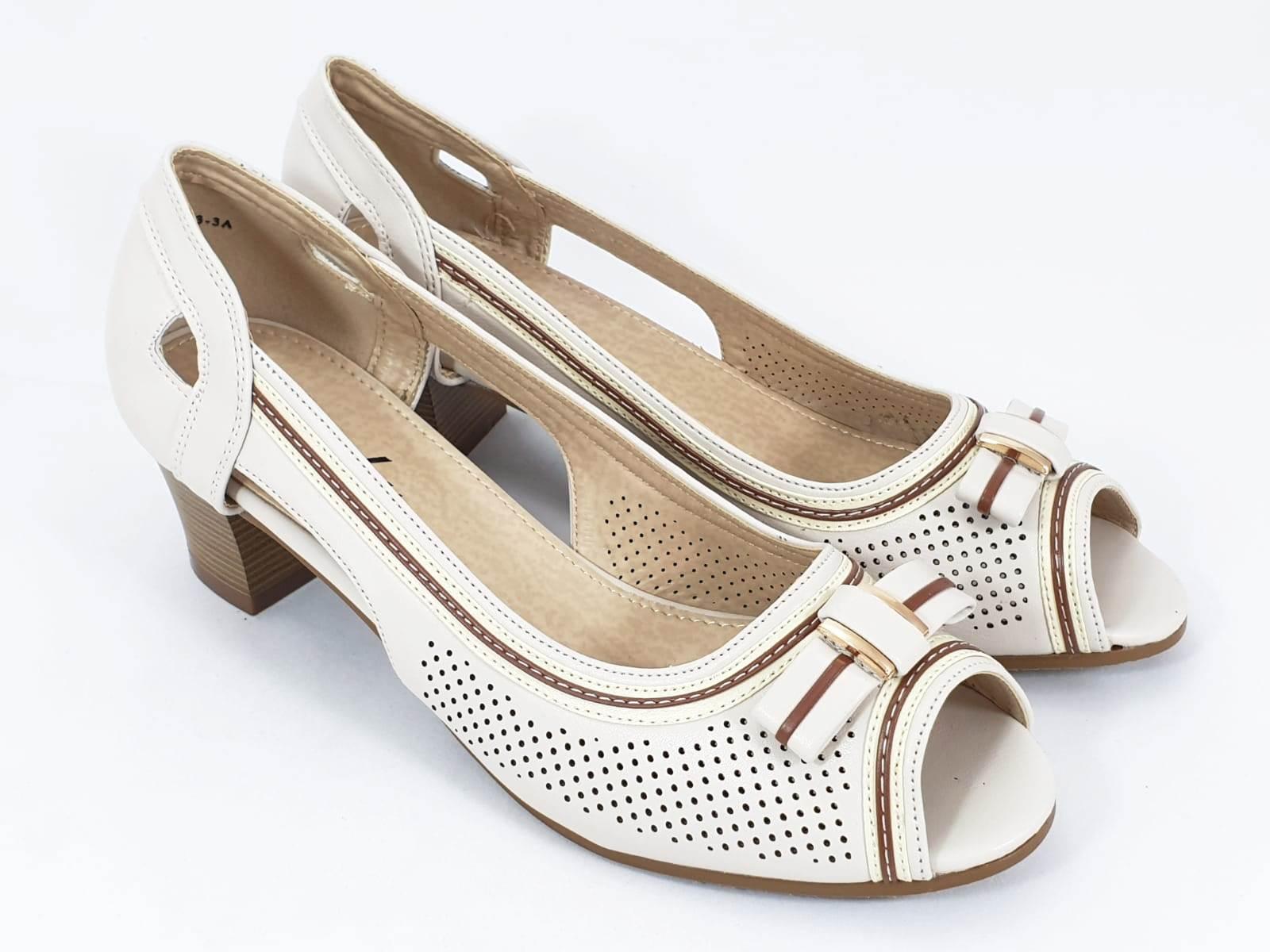 Sandale dama bej Olimpia