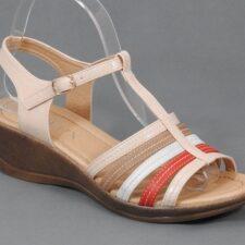 Sandale dama bej Teodora