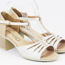 Sandale dama bej Valeria