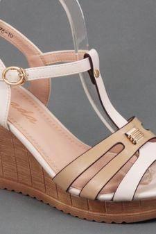Sandale dama bej Zexe