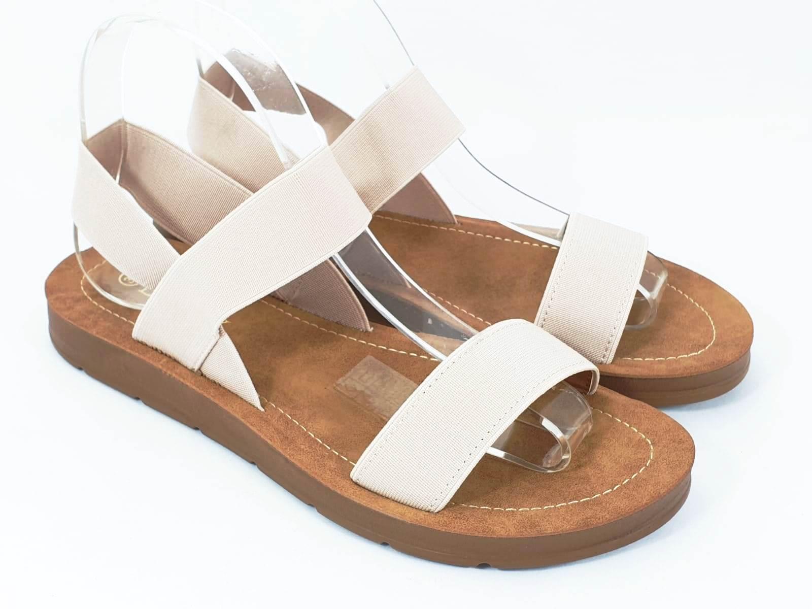 Sandale dama bej Zore