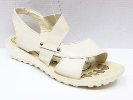 Sandale dama bej deschis