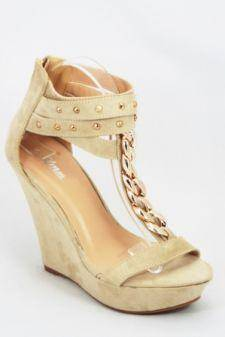 Sandale dama bej platforma 12 cm Janna