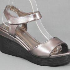 Sandale dama bronz argintii Dana
