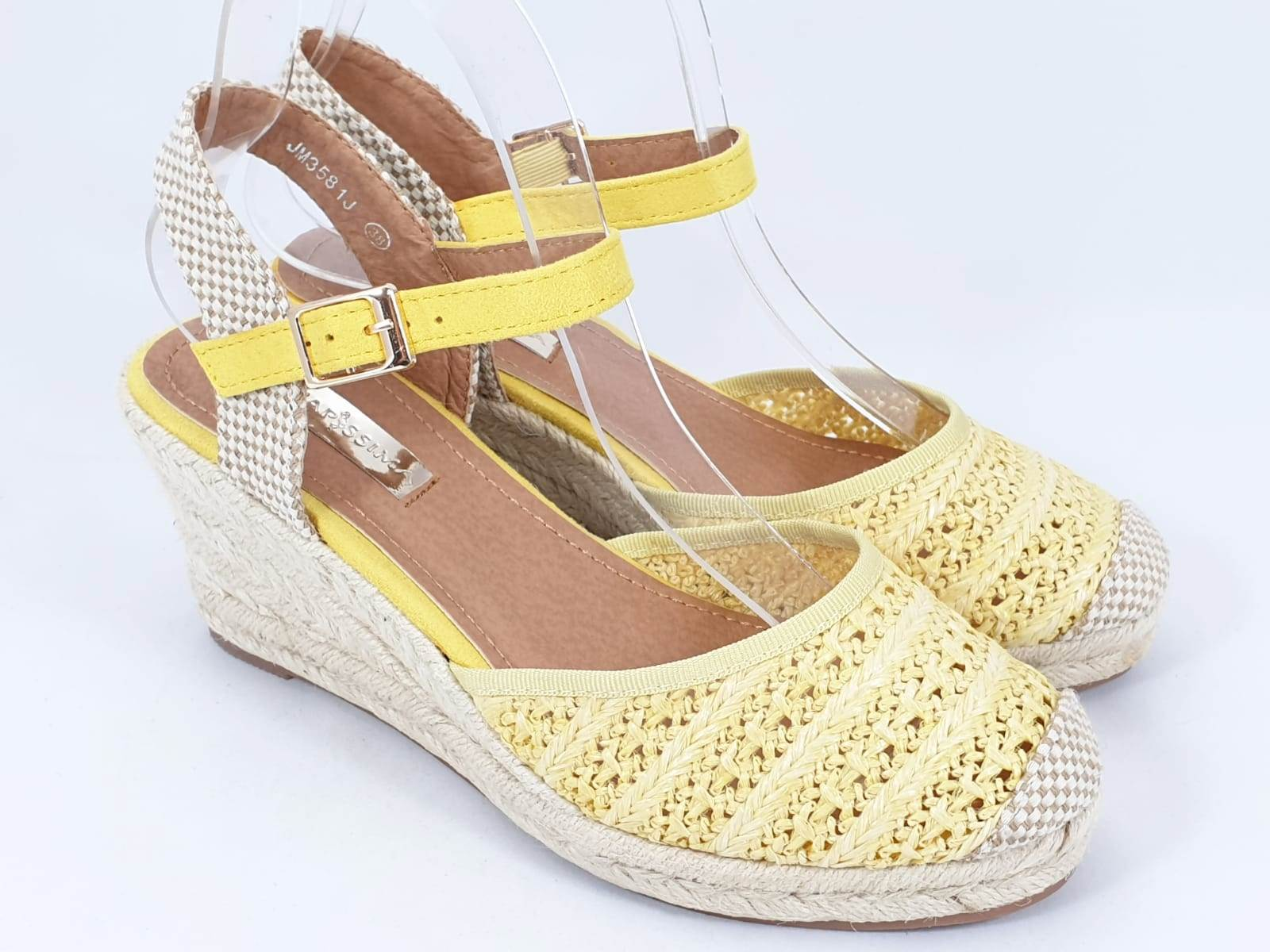 Sandale dama galbene Tora