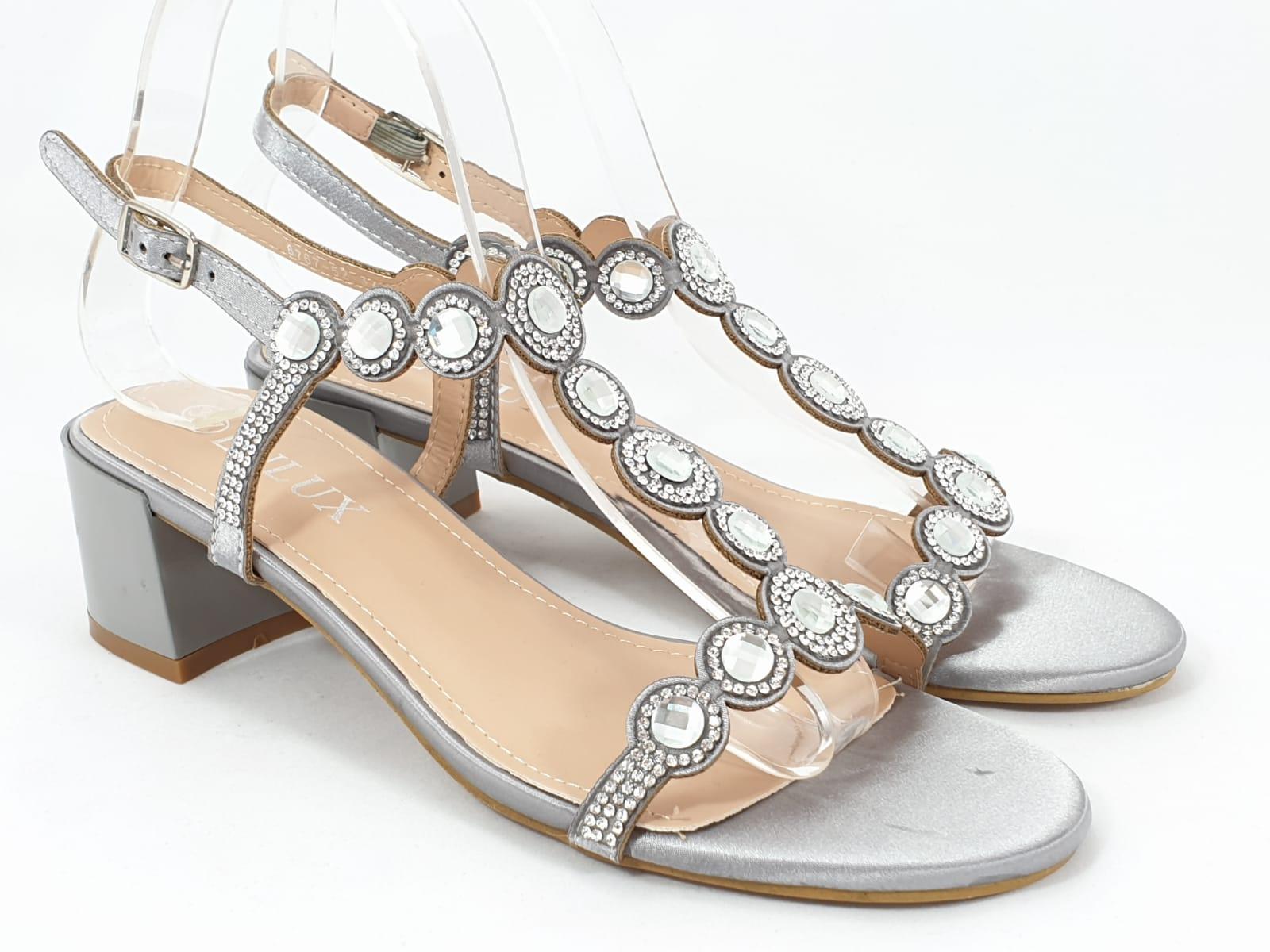 Sandale dama gri OlgGA