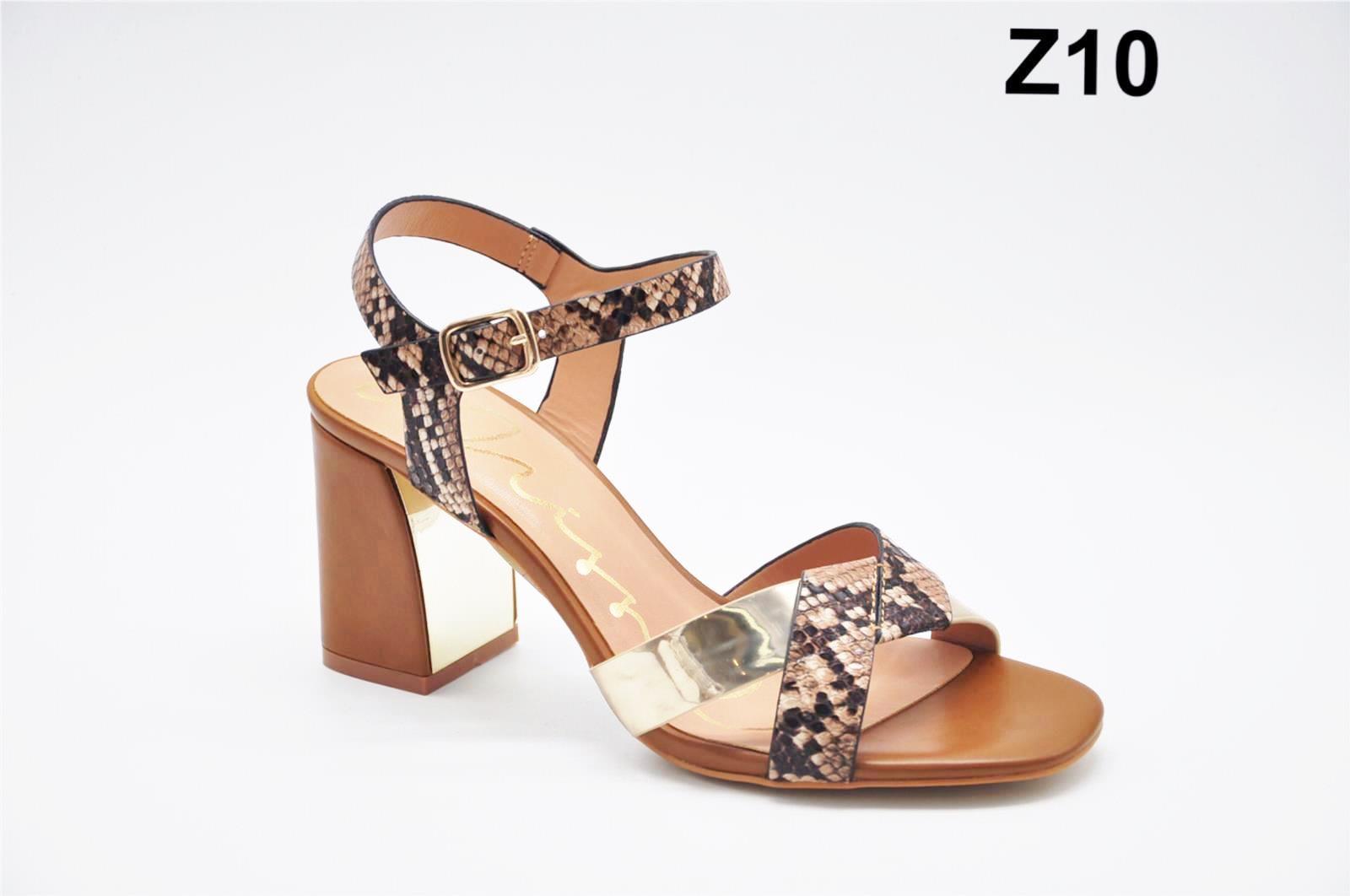 Sandale dama maro cu auriu Zonia