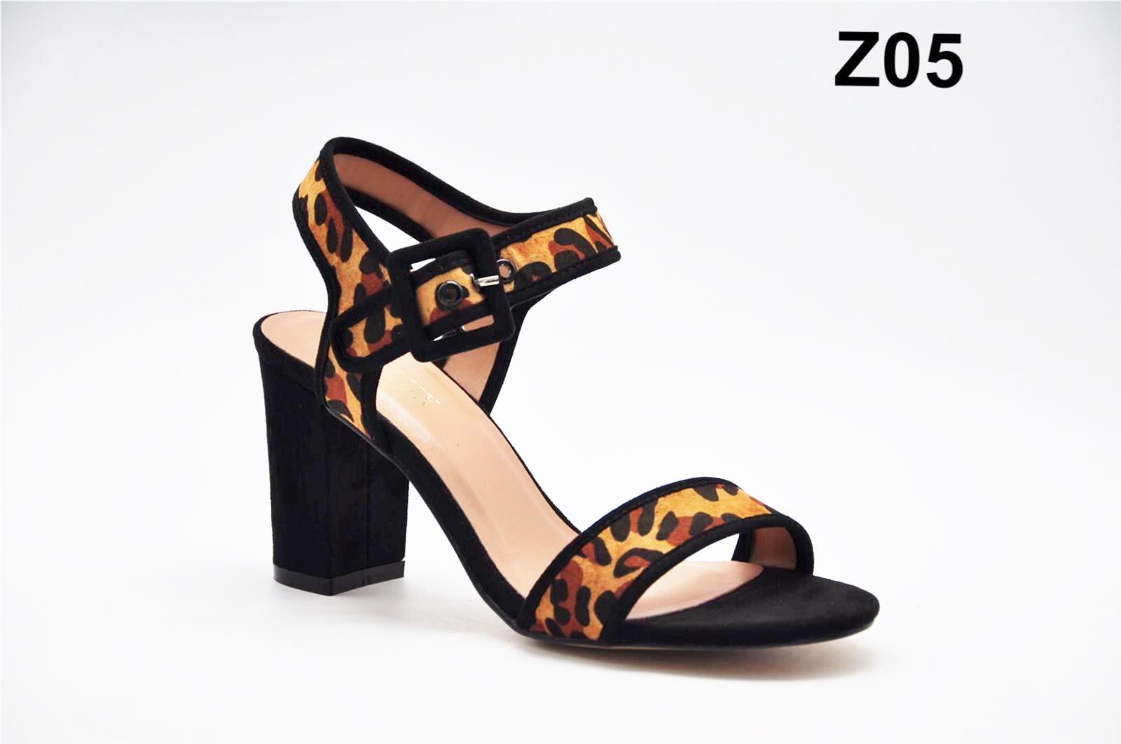 Sandale dama maro leopard Laura