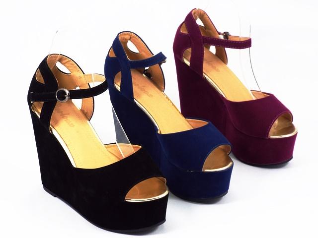Sandale dama mov Sally
