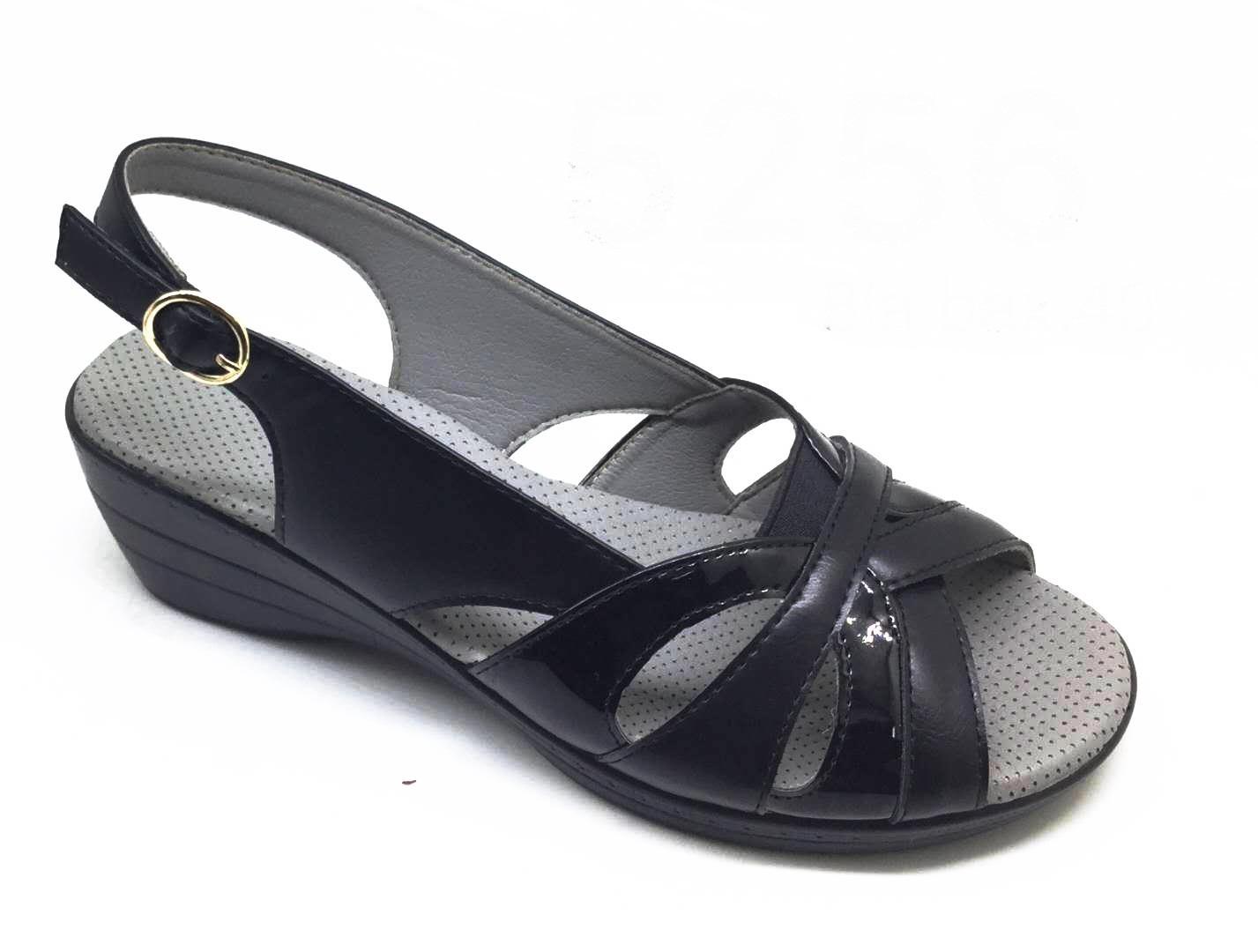 Sandale dama negre Adina