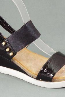 Sandale dama negre Alina