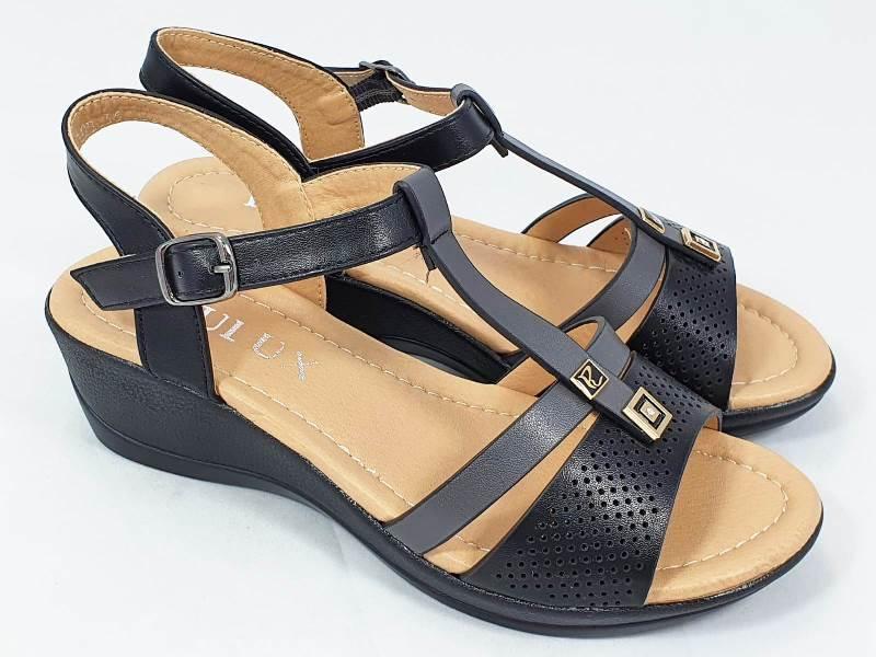Sandale dama negre Alma2
