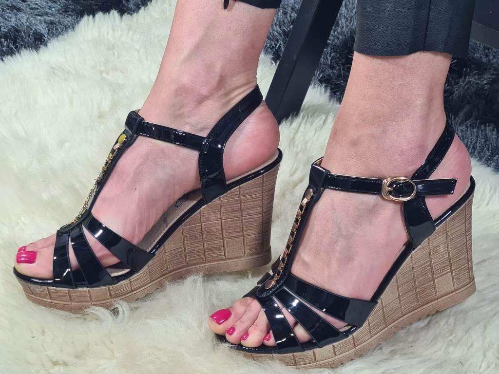 Sandale dama negre Ana