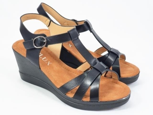Sandale dama negre Anita