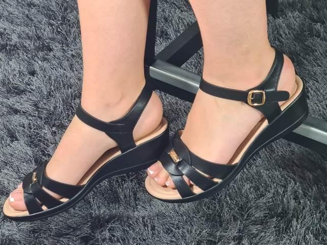 Sandale dama negre Anite