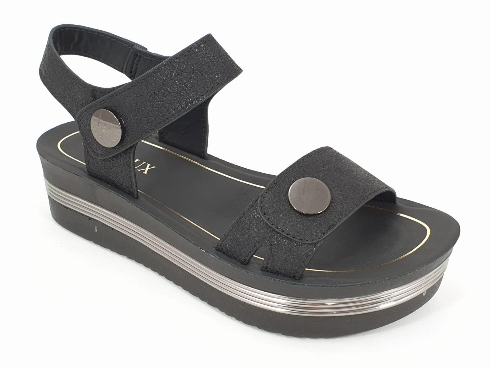 Sandale dama negre Bella