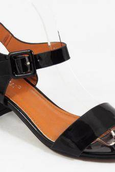 Sandale dama negre Caryna