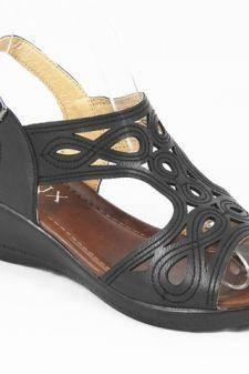Sandale dama negre Daniela