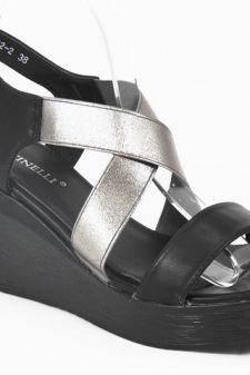 Sandale dama negre Delia