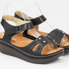 Sandale dama negre Eliza
