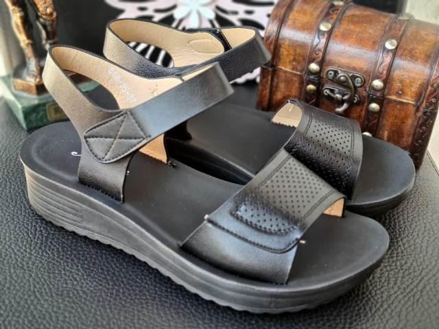 Sandale dama negre Elvira