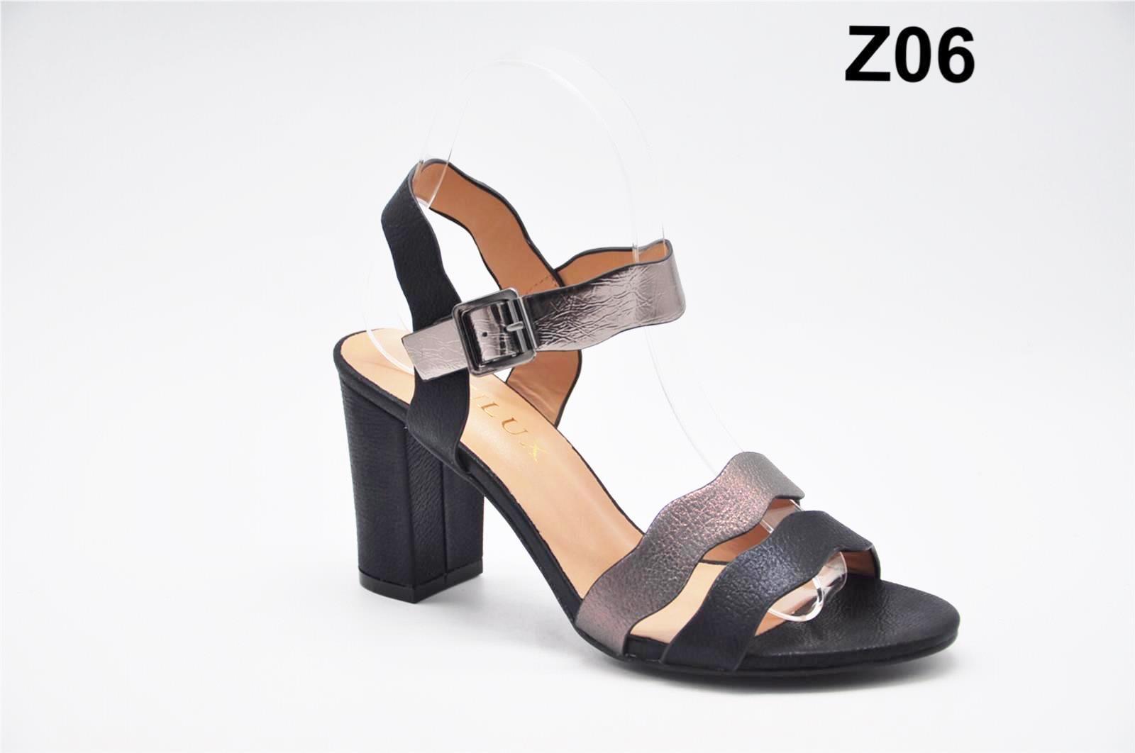 Sandale dama negre Erika